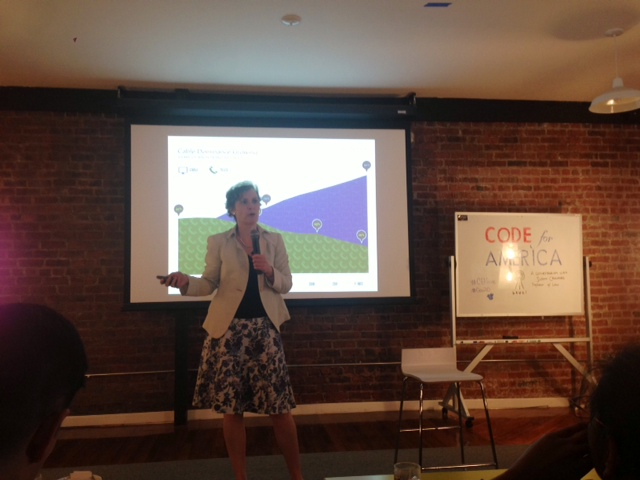 Susan Crawford at Code for America